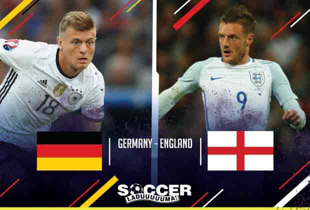 England vs Germany site