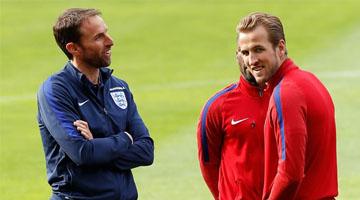 Gareth Southgate & Harry Kane